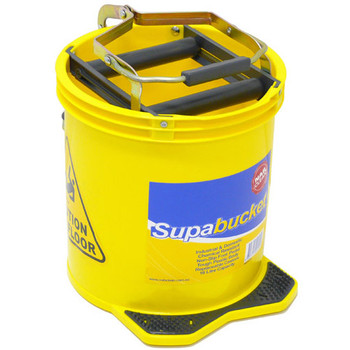 Mop Bucket 16 Litre Heavy Duty Yellow
