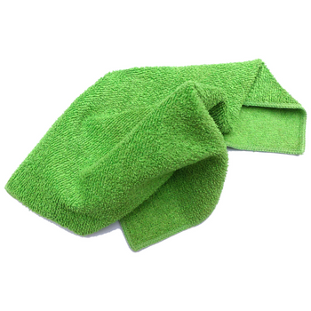 Large Green Microfibre Cloth