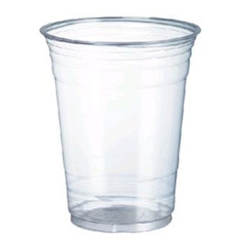 Cup Clear Plastic 285ml x 50 - Chanrol