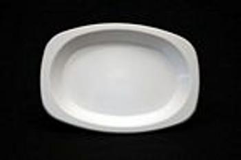 Plate Buffet White Plastic x 50 -Chanrol