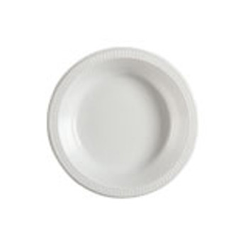 Plate Round 180mm White Pkt 50 - Chanrol