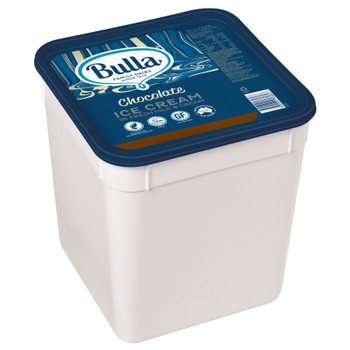 Bulla Real Dairy Chocolate Ice Cream 10 Litre