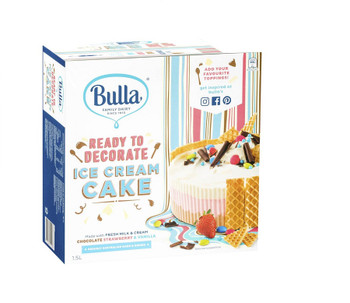 Bulla Ice Cream Cake Base Ready To Decorate