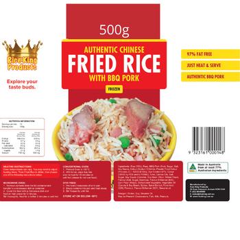 Rice King Fried Rice 500g