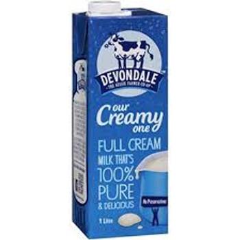 Milk Long Life Full Cream 1 Litre