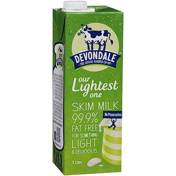 Milk Skim Long Life 1 Litre