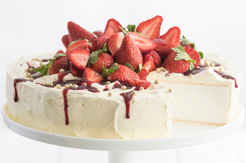 Large Catering Sized Pavlova Shell 1kg