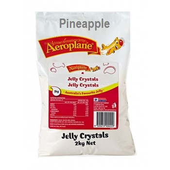 Aeroplane Jelly Crystals Pineapple 2kg