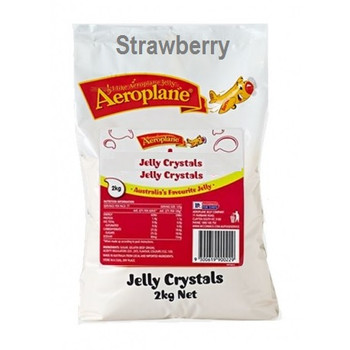 Aeroplane Jelly Crystals Strawberry 2kg
