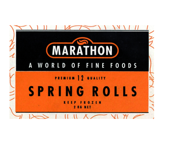 Marathon Spring Rolls 12 Pack