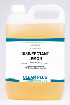 Disinfectant Lemon 5 Litre - Catermate