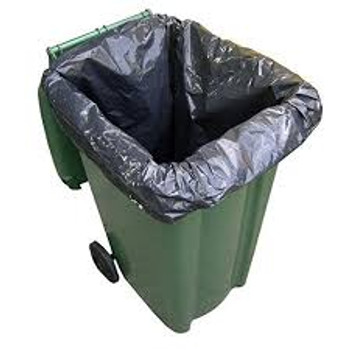 Bags Wheely Bin Liners 25 x 240 Litre - Five Star