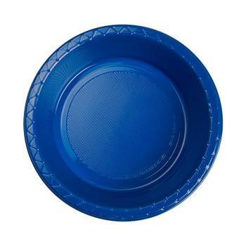 Bowl Plastic 172mm Blue True 20 Pk - Five Star