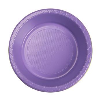 Bowl Plastice 172mm Lilac 20 Pk - Five Star