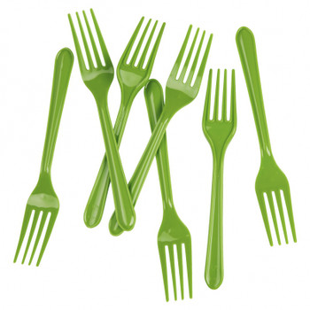 Fork Green Lime 20Pkt - Five Star
