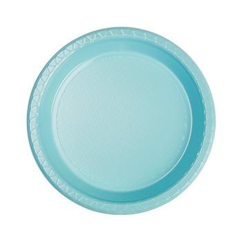 Plate Round 172mm Blue Pastel Pkt 25