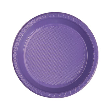 Plate Round 172mm Lilac Pkt 20