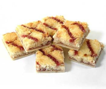 Coconut & Jam Slice 6Pk - Gluten Free
