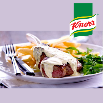 Knorr Béarnaise Sauce On Steak