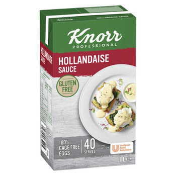KNORR Hollandaise Gluten Free Sauce 1 Litre