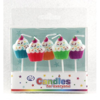 Candles Cup Cakes 5Pk
