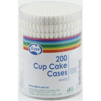 Cupcake  Case White 200Pk