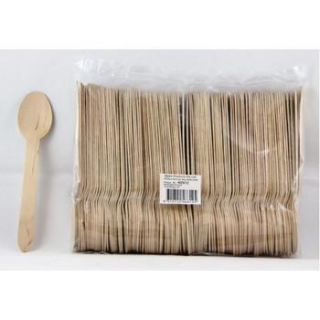 Wooden Dessert Spoons 100 Pkt