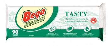Bega Tasty Sliced Cheese 90 Pack