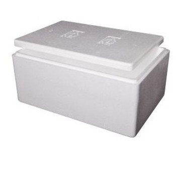 Large Polystyrene Foam Esky Box + Lid
