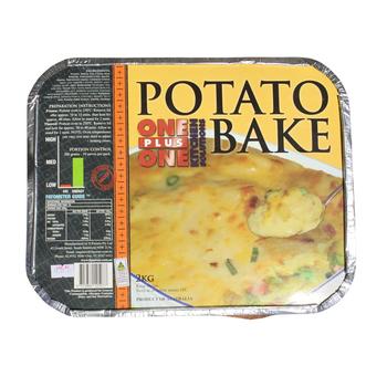 One Plus One Potato Bake 2kg