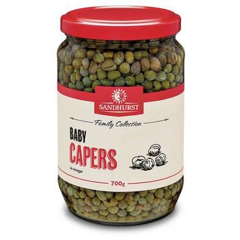 Capers In Vinegar 2kg - Sandhurst