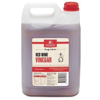 Vinegar Red Wine 5 Litre - Sandhurst