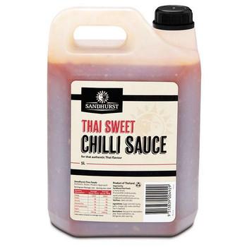 Sauce Sweet Chilli 5 Litre - Sandhurst