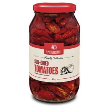 Tomatoes Sundried 2kg - Sandhurst