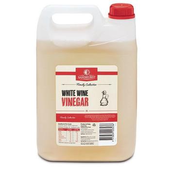 Vinegar White Wine 5 Litre - Sandhurst