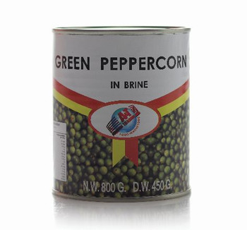 Green Peppercorns In Brine 800g