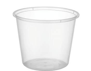 Round Containers C25 (700ml / 25oz) Carton 500
