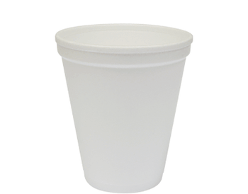 Cup Foam White 8oz Carton 1000