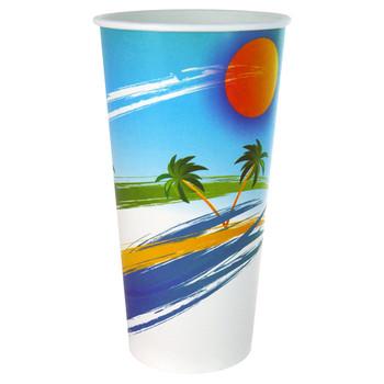Paradiso Milkshake Cups 24oz Carton 500
