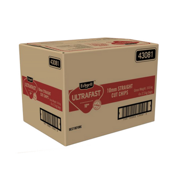 Edgell Ultra Fast 10mm Chips Carton