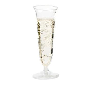 Cup Champagne Flute  125ml Carton 100 - Romax