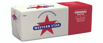 Western Star Catering Butter 8 x 1.5kg