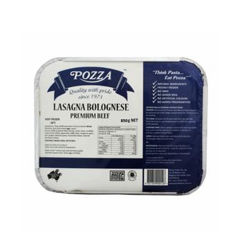 Pozza Lasagne Bolognaise Premium Beef  850g