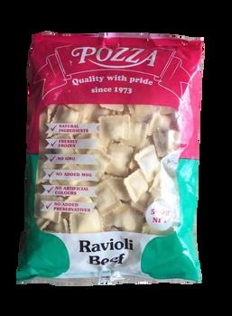 Pasta Ravioli Beef 500g - Pozza