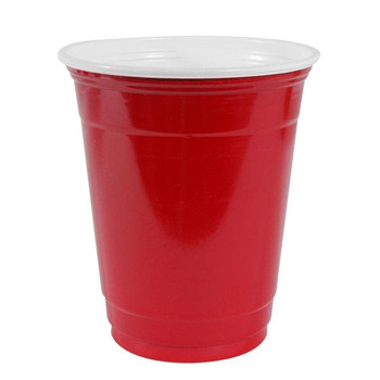 Cup Red World Famous 540ml x 20