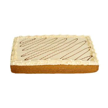 Salted Caramel Slab Cake 1.85kg - Catermate
