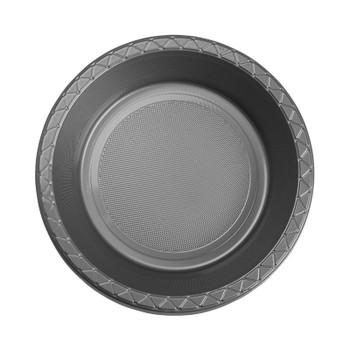 Bowl Plastic 172mm Silver 20 Pk- Five Star