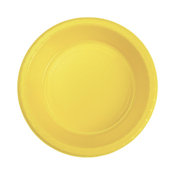 Bowl Plastic 172mm Yellow 20 Pk - Five Star