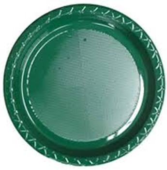 Plate Round 223mm Green Hunter 20 Pkt
