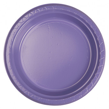 Plate Round 223mm Lilac 20 Pkt